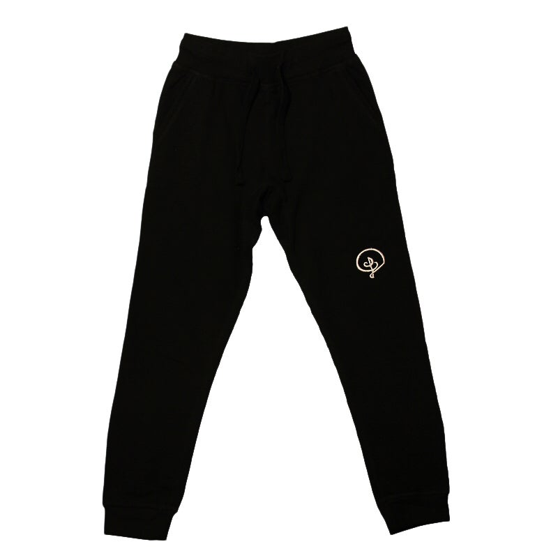 Image of D Logo Jogger Sweatpants (Black)