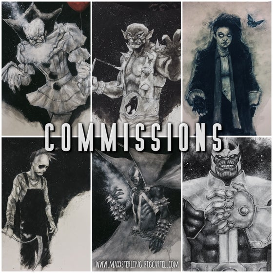 Image of COMMISSION (SINGLE CHARACTER)