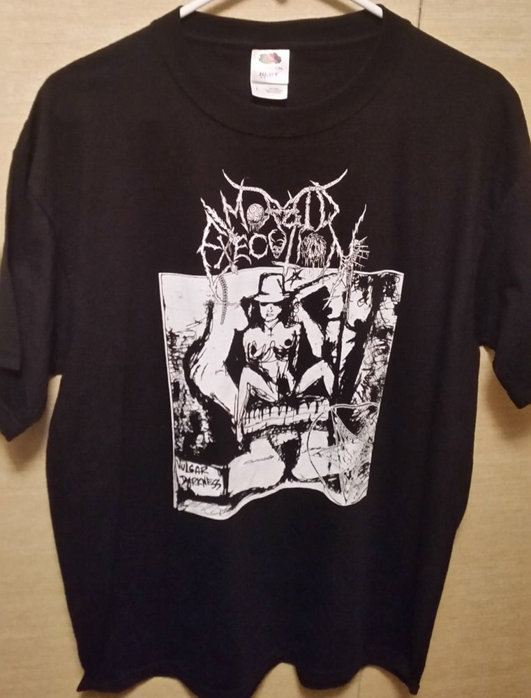 "Image of MORBID EXECUTION ""Vulgar Darkness"" T-SHIRT"
