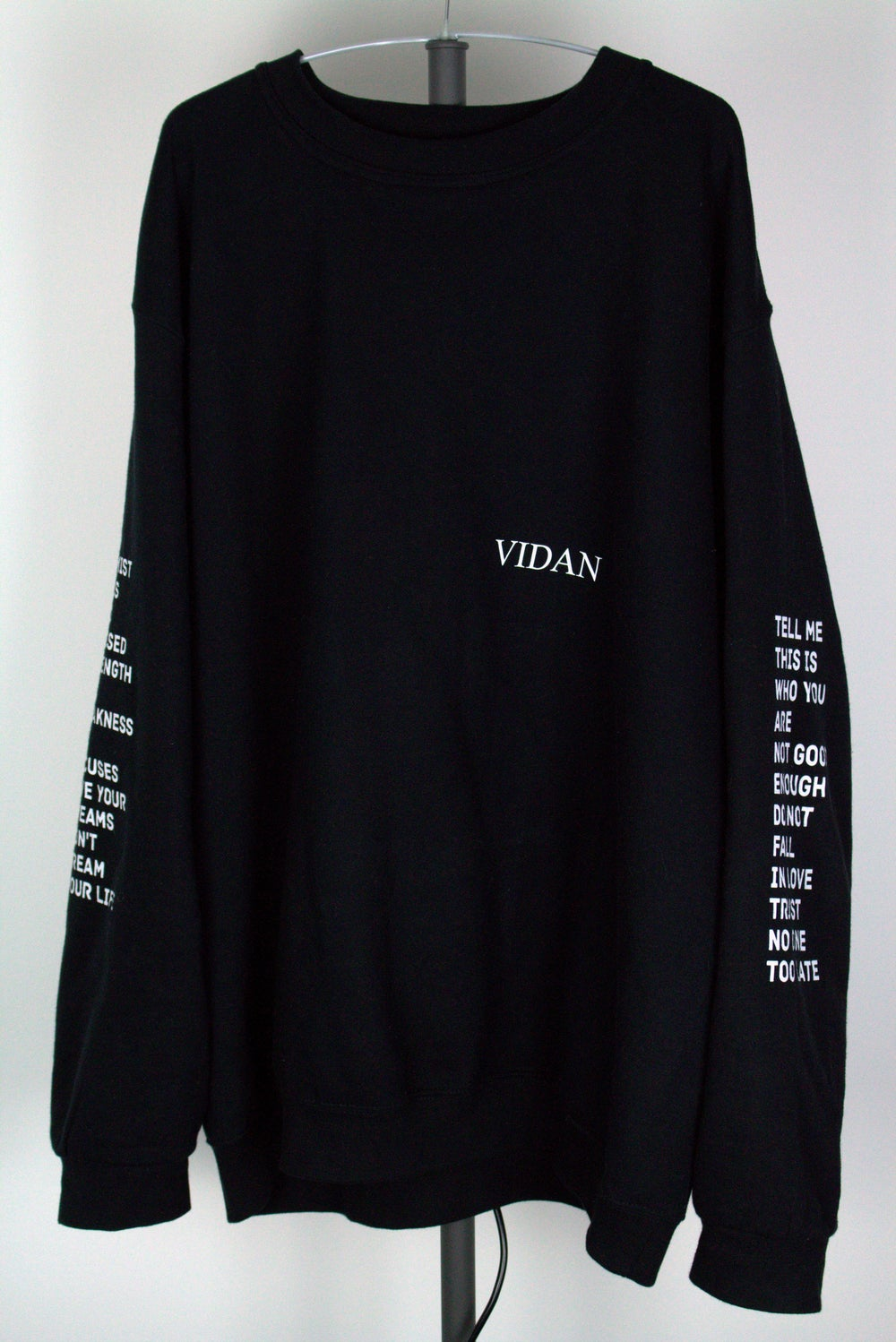 Image of Lyrics Crewneck