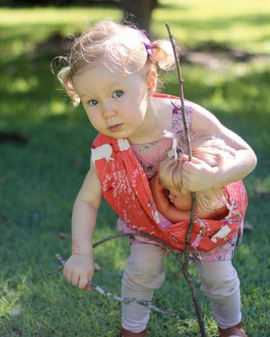 Image of Baby doll carrier