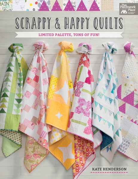 Image of Scrappy and Happy Quilts