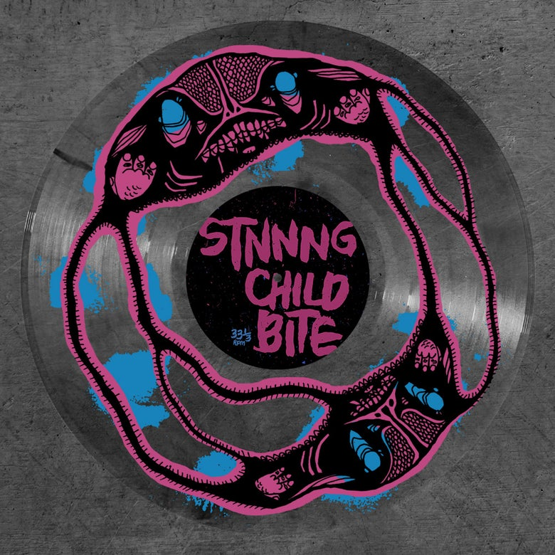 "Image of Child Bite / STNNNG ""split EP"" - vinyl"