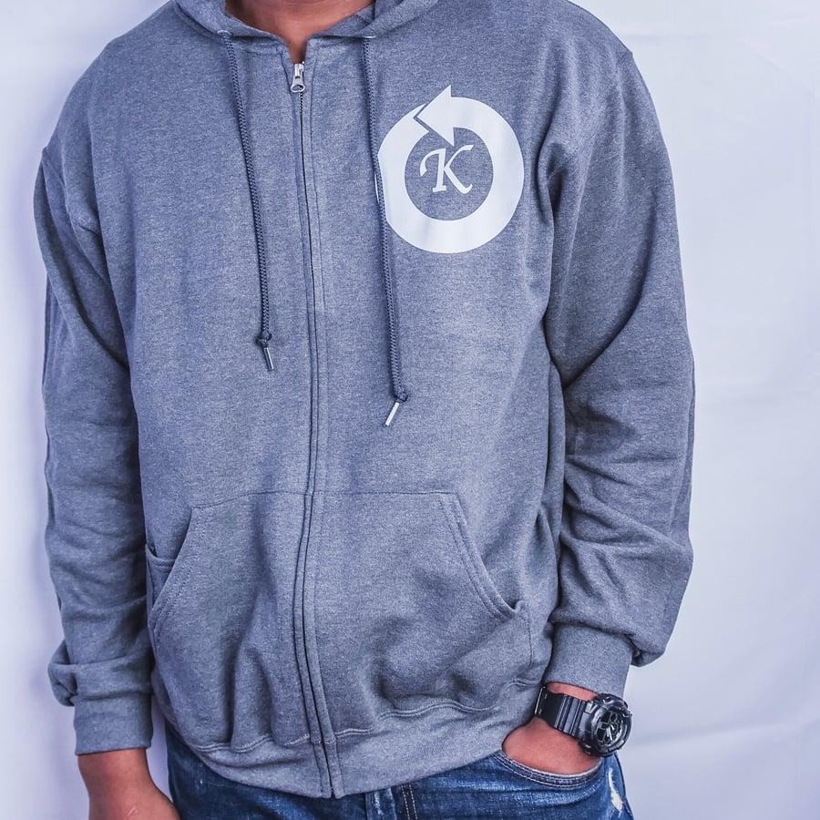 Image of Circle K Zip Hoodie