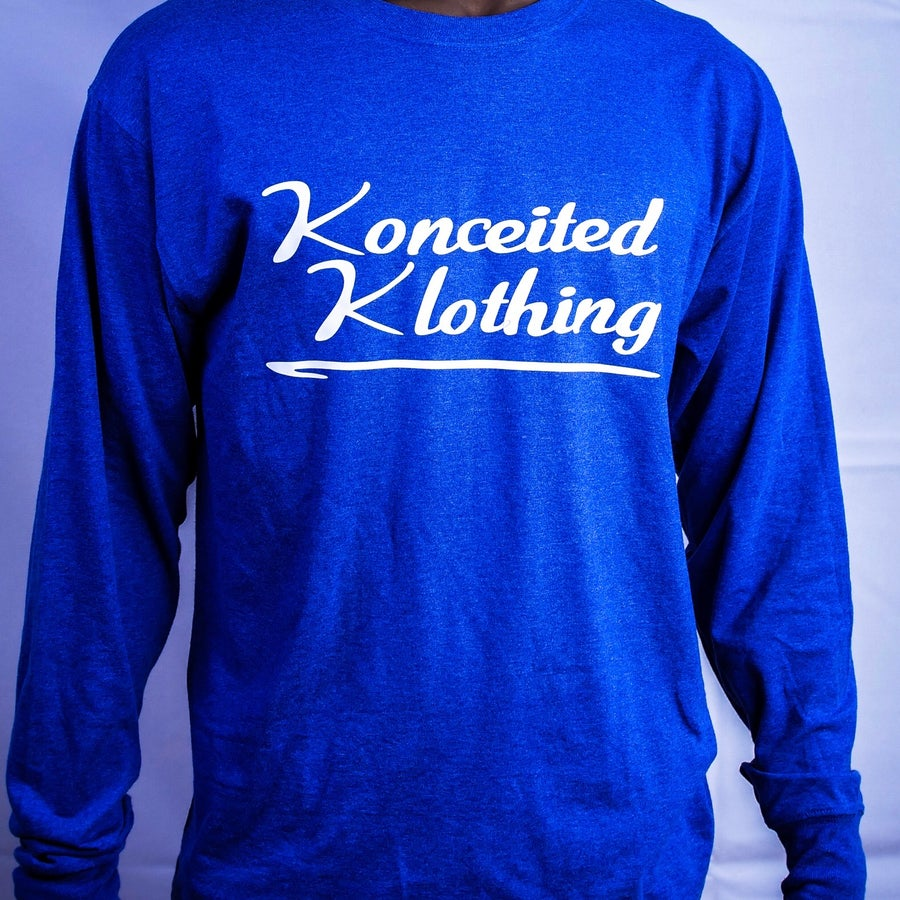 Image of Konceited Klothing Brand Long Sleeve