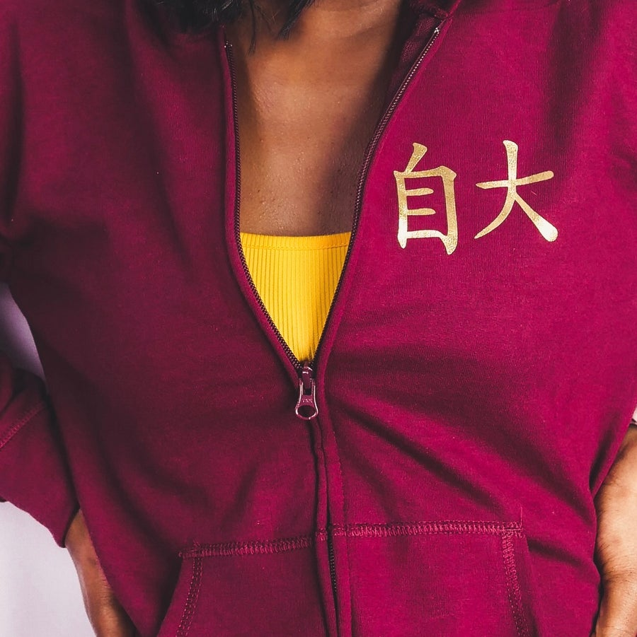 Image of Konceited Small Chinese Zip Hoodie