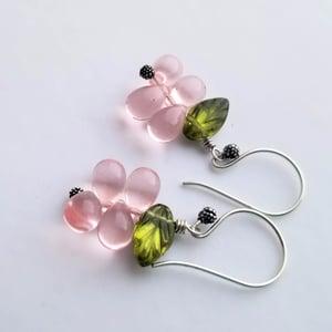 Image of Tea Rose Earrings