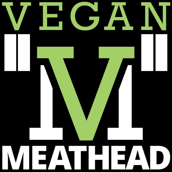 Image of Vegan Meathead (logo) sticker