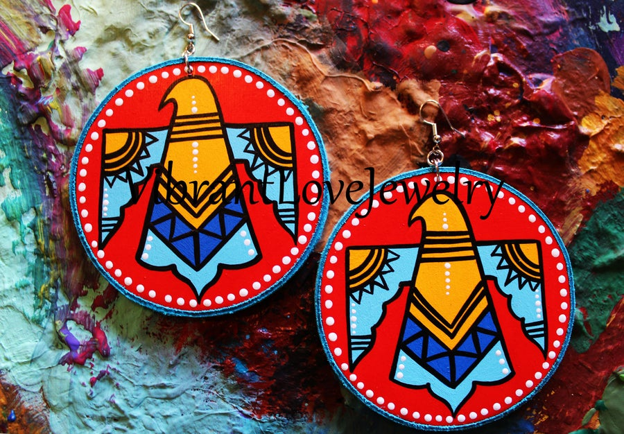 "Image of ""Thunda"" Earrings!"