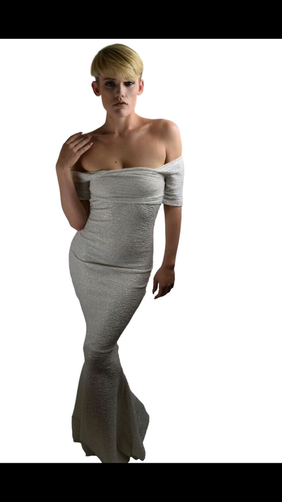 Image of Off the shoulder mermaid dress