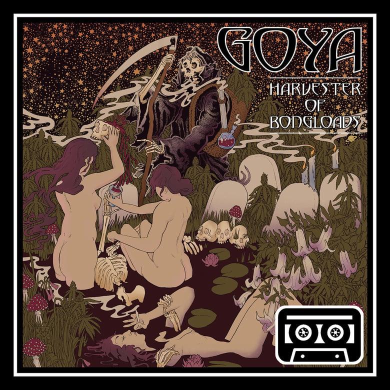 Image of OPR010 - Goya - Harvester Of Bongloads Cassette
