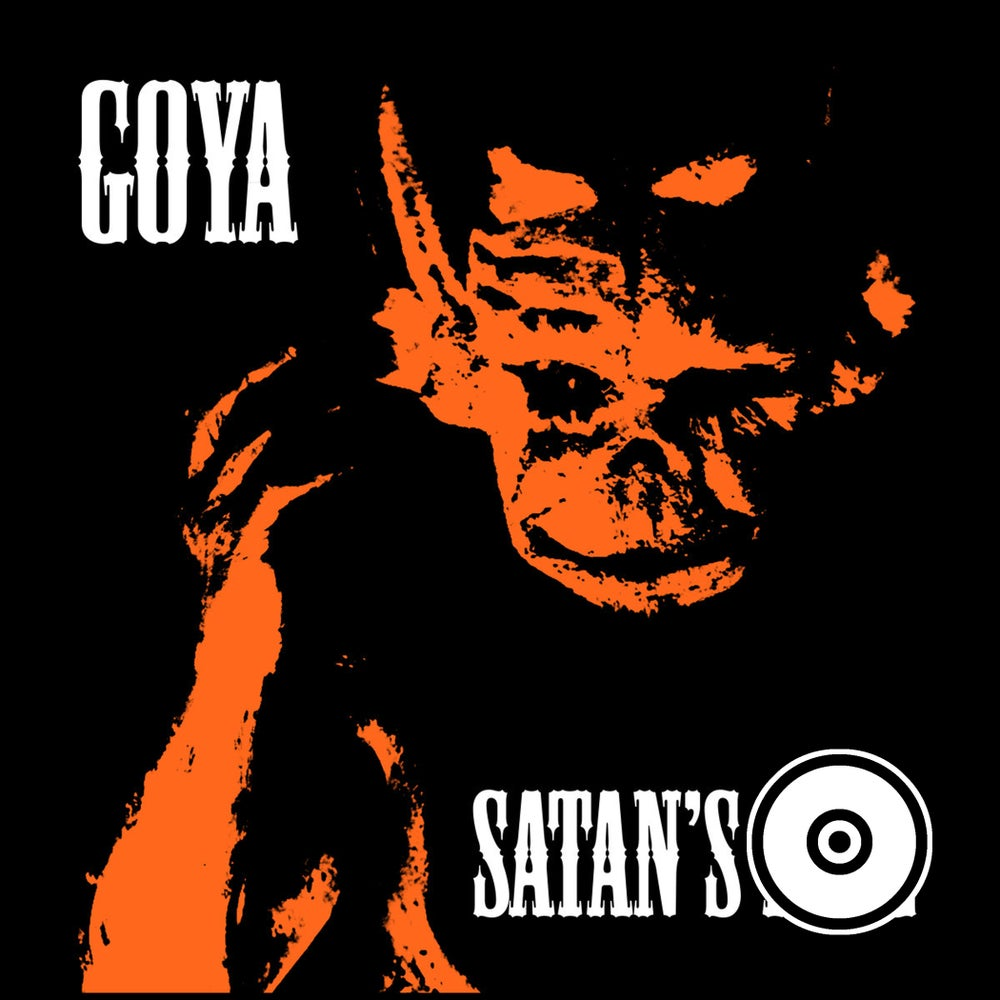 Image of OPR002 - Goya - Satan's Fire CD