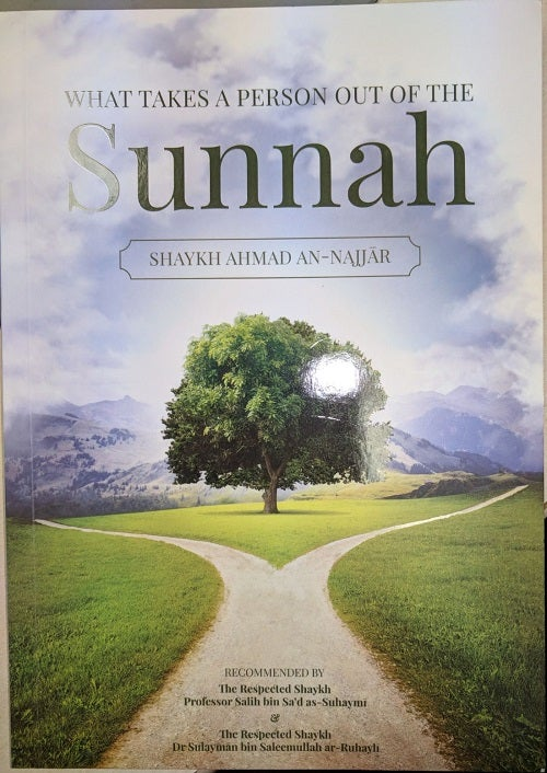 Image of What Takes a Person Out of the Sunnah - Shaykh Ahmad An-Najjar