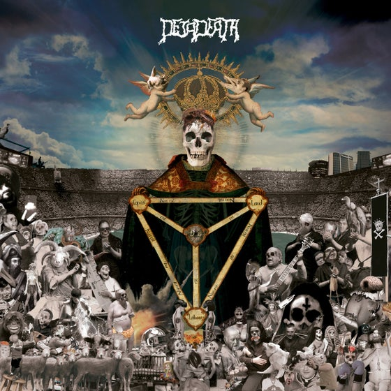 "Image of DEJADEATH ""Satan is losing momentum"" Jewel slipcase Black CD special edition"