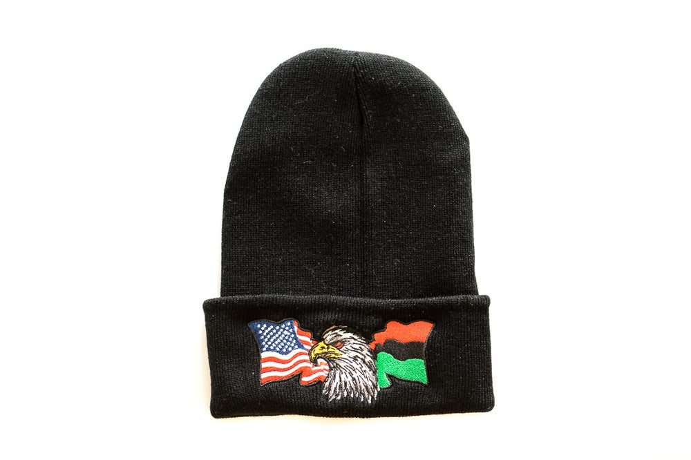 Image of AMERICA??? - Beanie (Black)