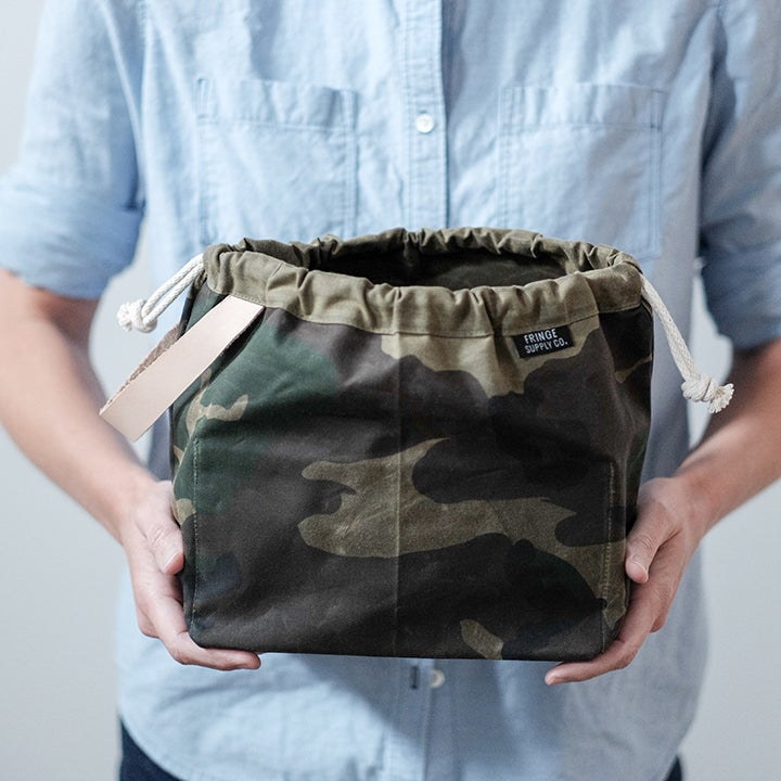 Image of Waxed canvas Field Bag by Fringe Supply Co.