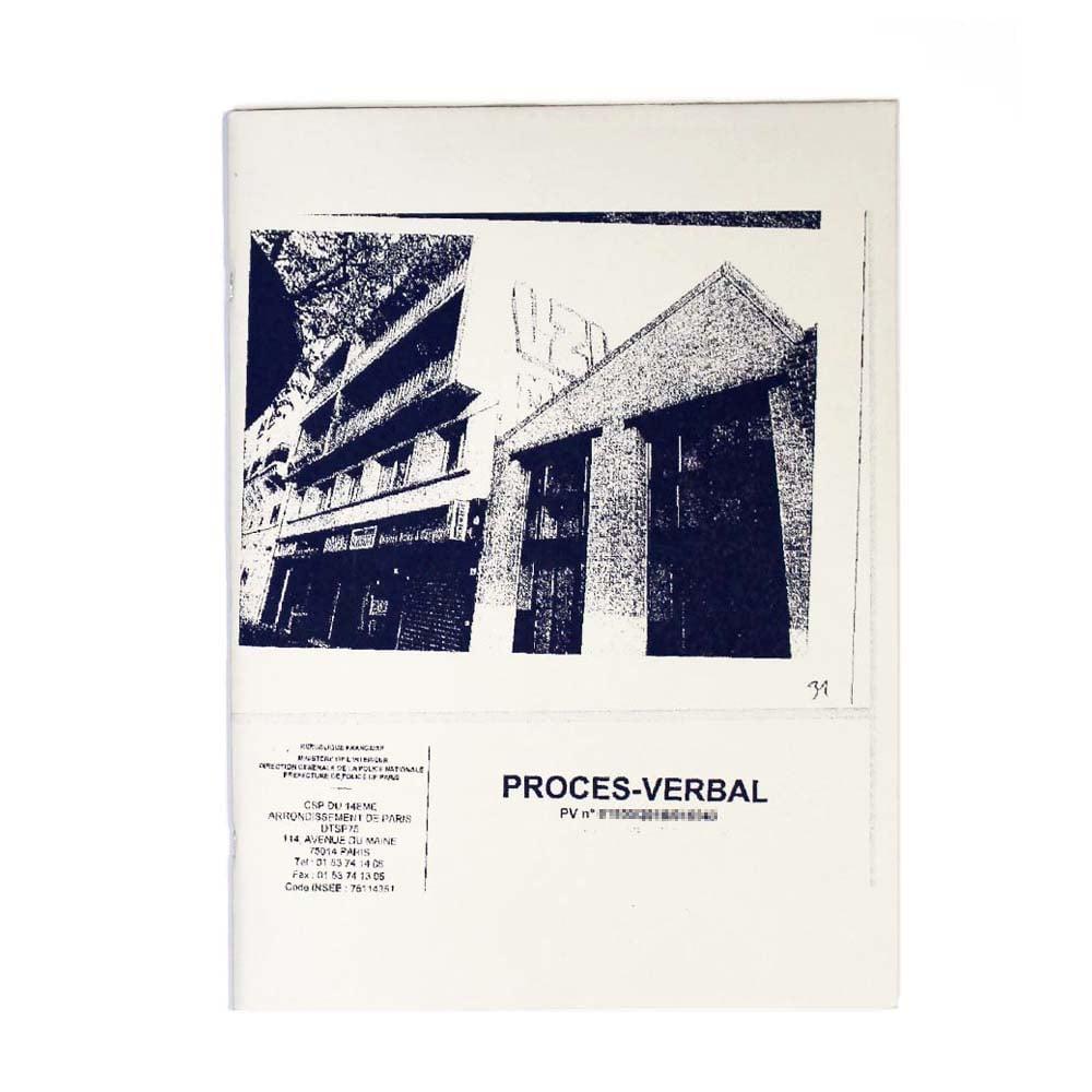 Image of PROCÈS VERBAL
