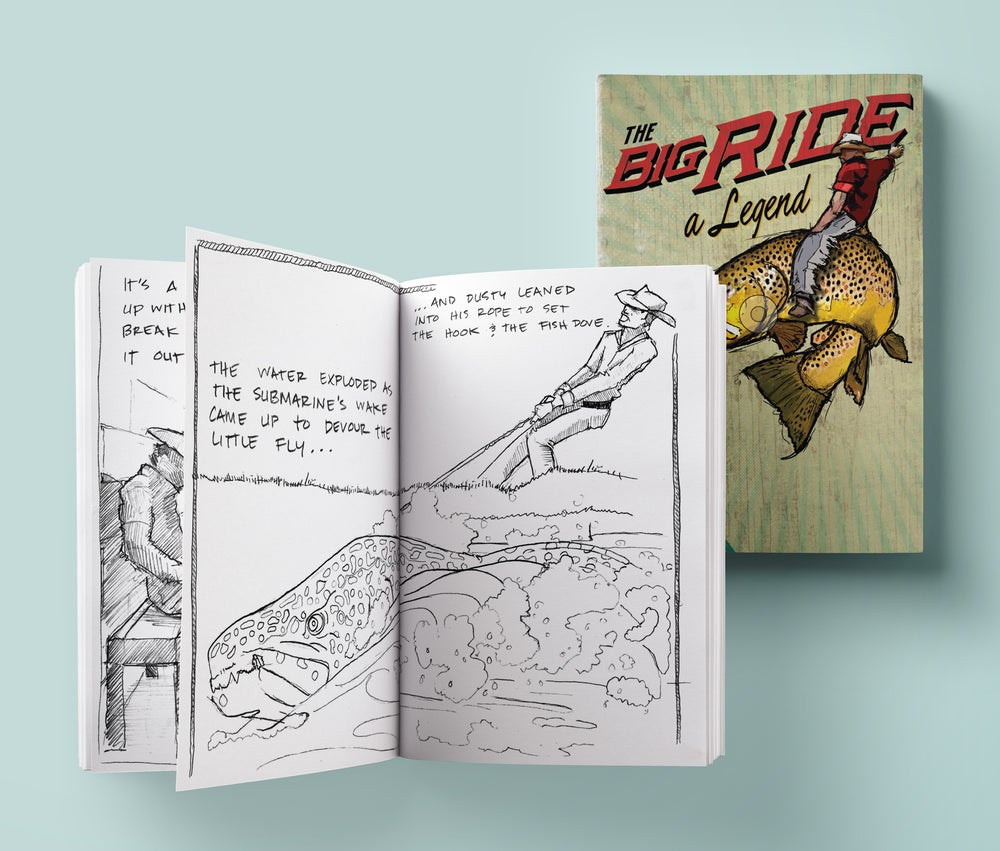 Image of The Big Ride Coloring Book