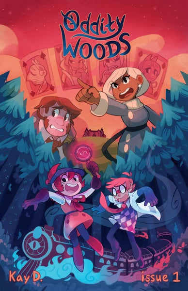Image of Oddity Woods Issue 1