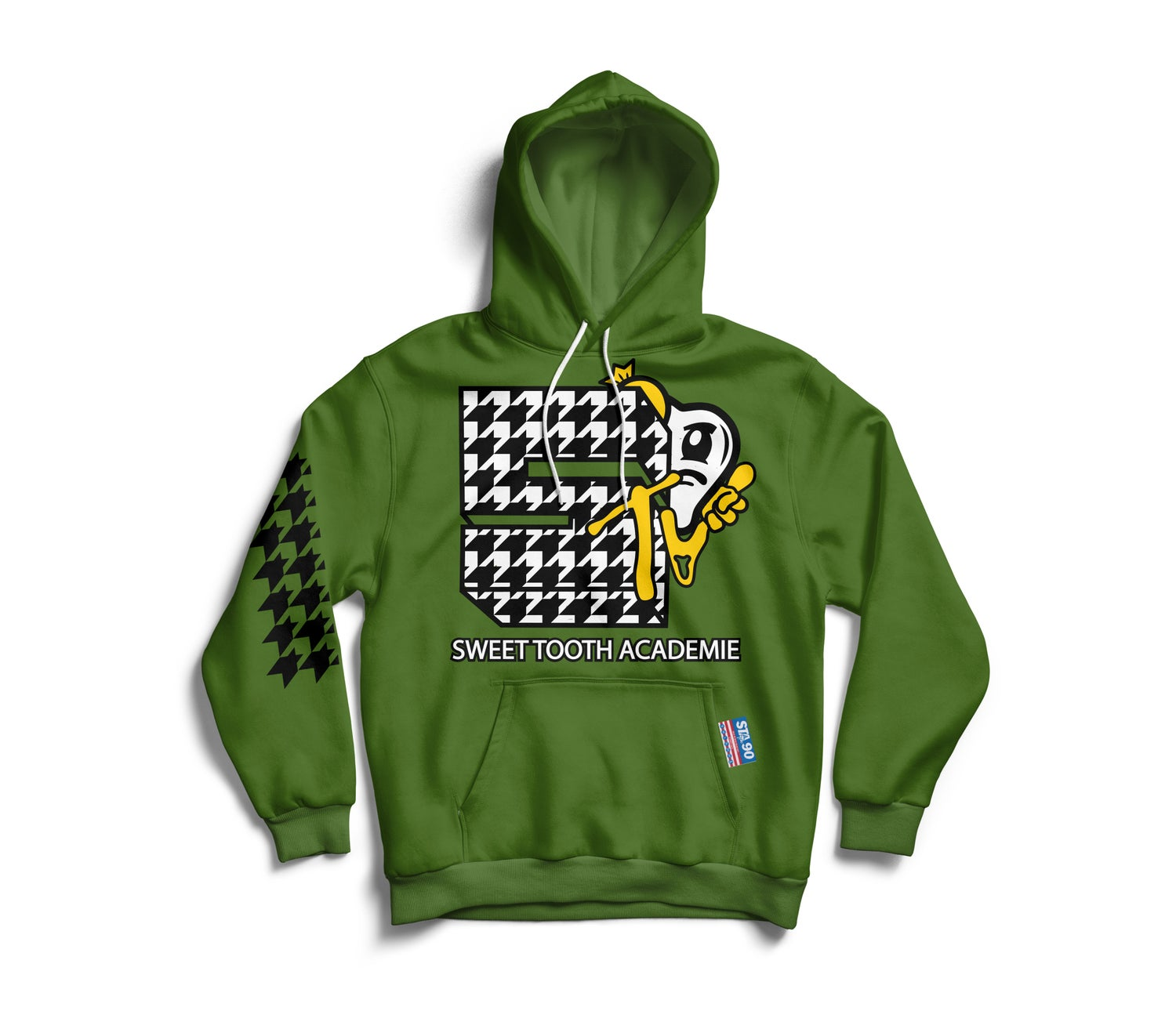 Image of STA TV OLIVE HOODY