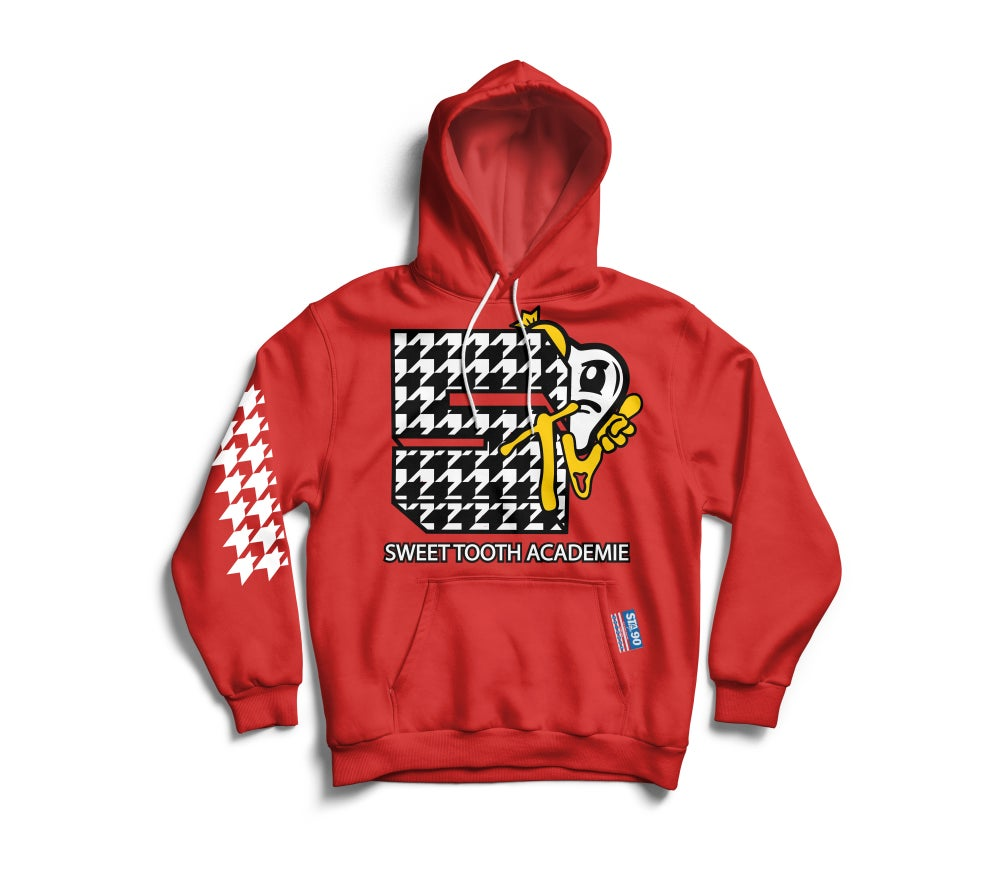Image of STA TV RED HOODY