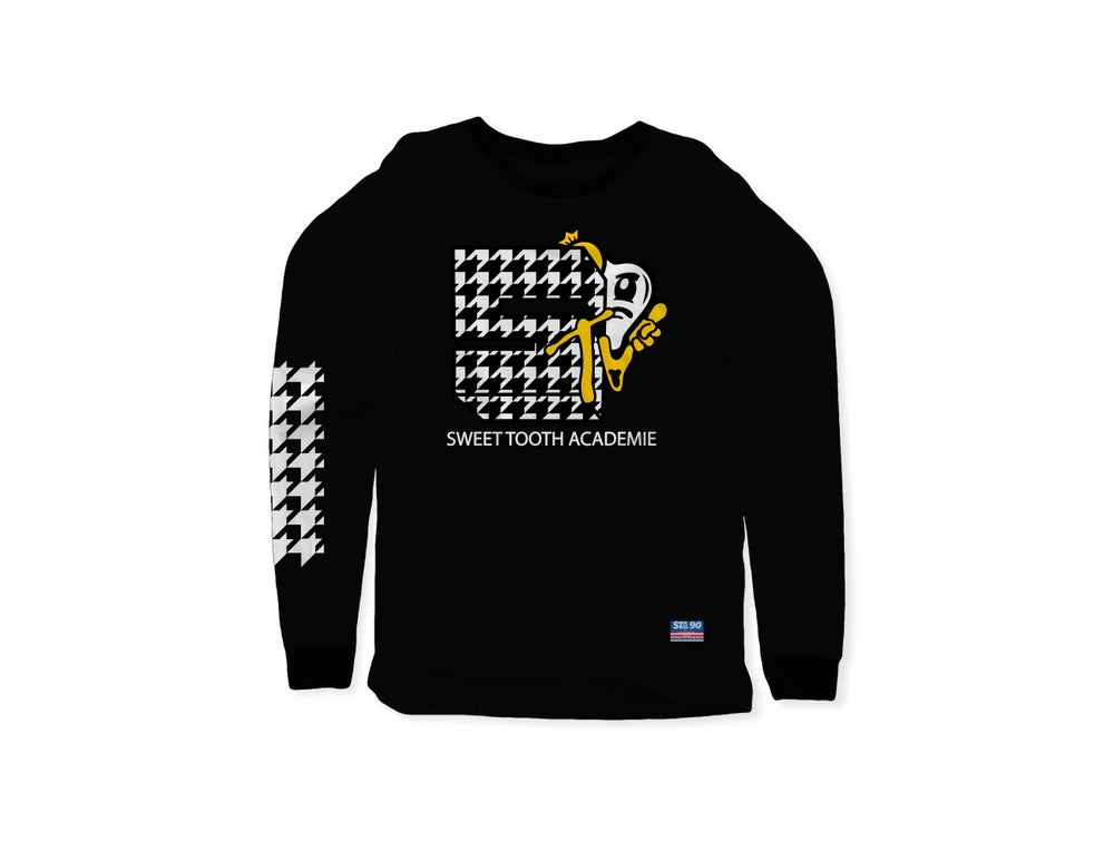 Image of STA MTV BLACK LONG SLEEVE