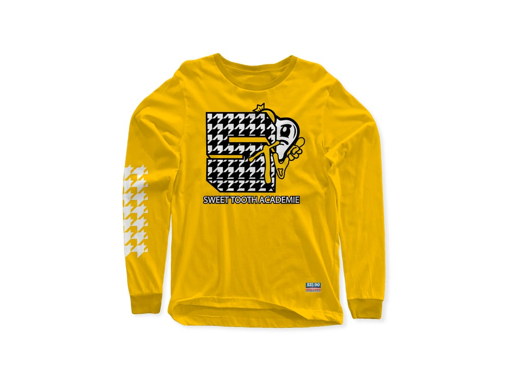 Image of STA TV YELLOW LONG SLEEVE
