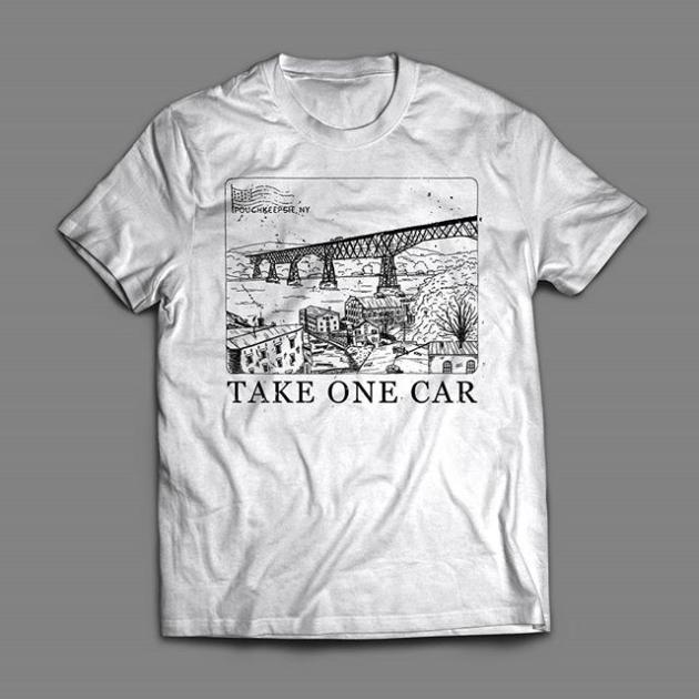 Image of Poughkeepsie Postcard Shirt