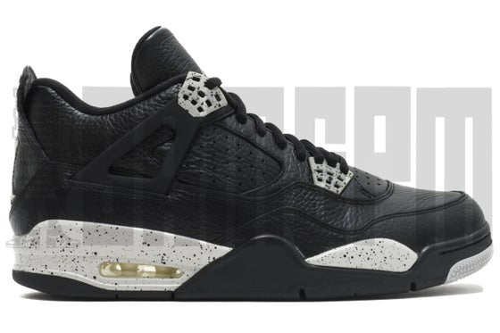 "Image of Nike AIR JORDAN 4 RETRO LS ""OREO"""