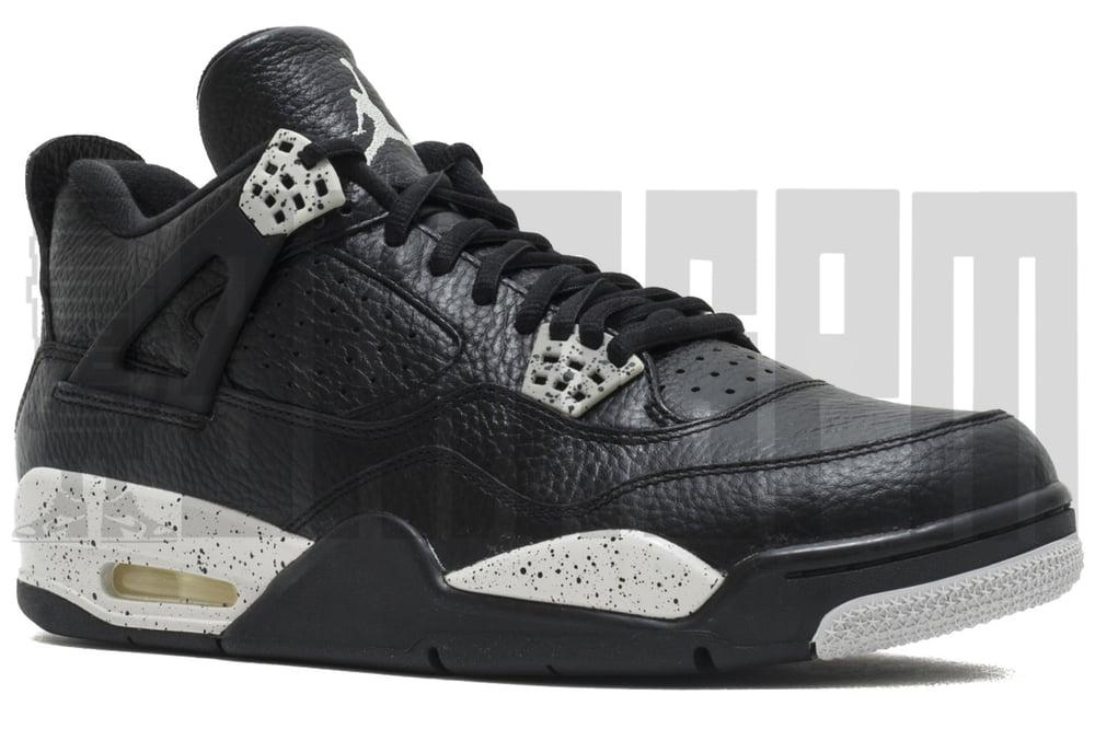"Image of Nike AIR JORDAN 4 RETRO LS ""OREO"""