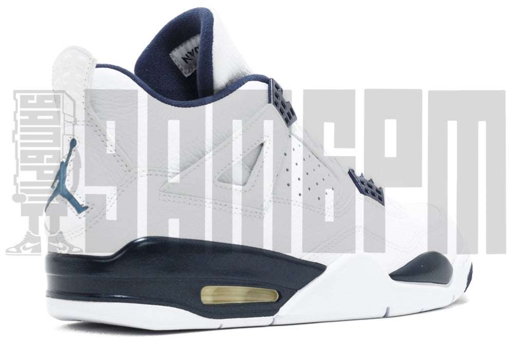 "Image of Nike AIR JORDAN 4 RETRO LS ""LEGEND BLUE"""