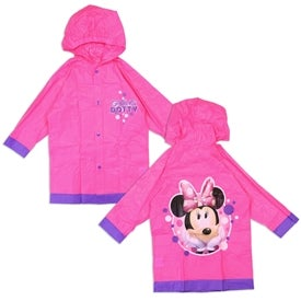 Image of MINNIE MOUSE GIRLS RAIN SLICKER