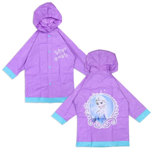 Image of FROZEN GIRLS RAIN SLICKER