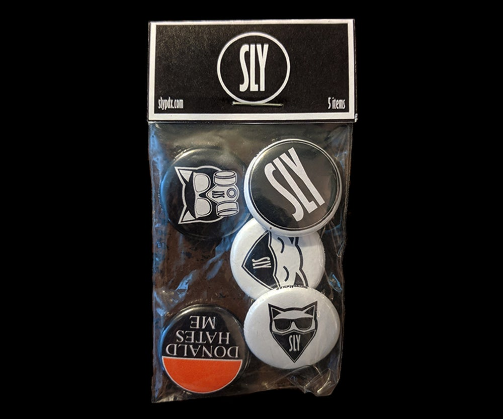 Image of 1 inch Button Pack