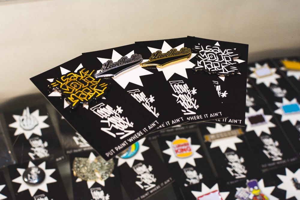 Leave Your Mark Enamel Pins