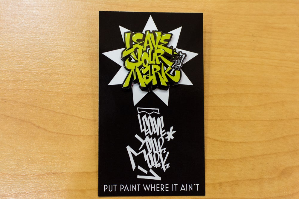 "Leave Your Mark ""OG"" Logo Enamel Pin"