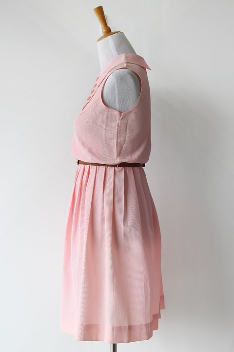 Image of SOLD Buttons On Point Dress