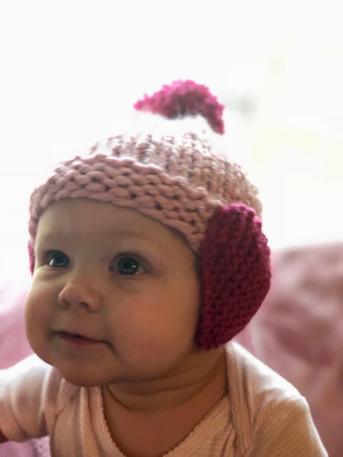 Image of Heartbeat Hat - Pink