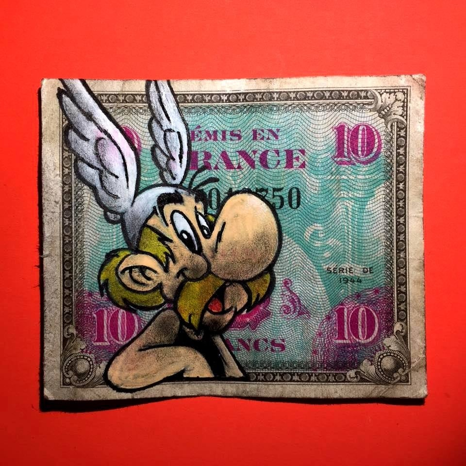 Image of 1944 Asterix Money Art