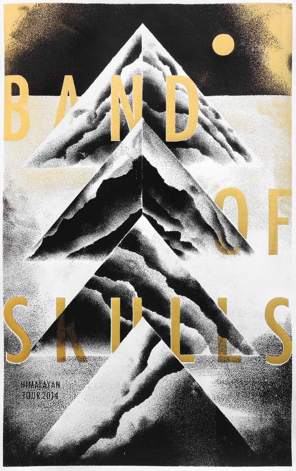 Image of BAND OF SKULLS 01