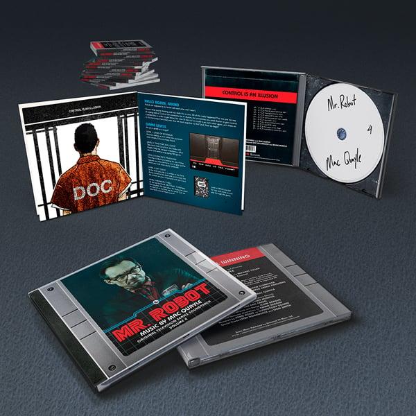 Image of Mr. Robot Vol. 4 (Original Television Series Soundtrack) CD - Mac Quayle