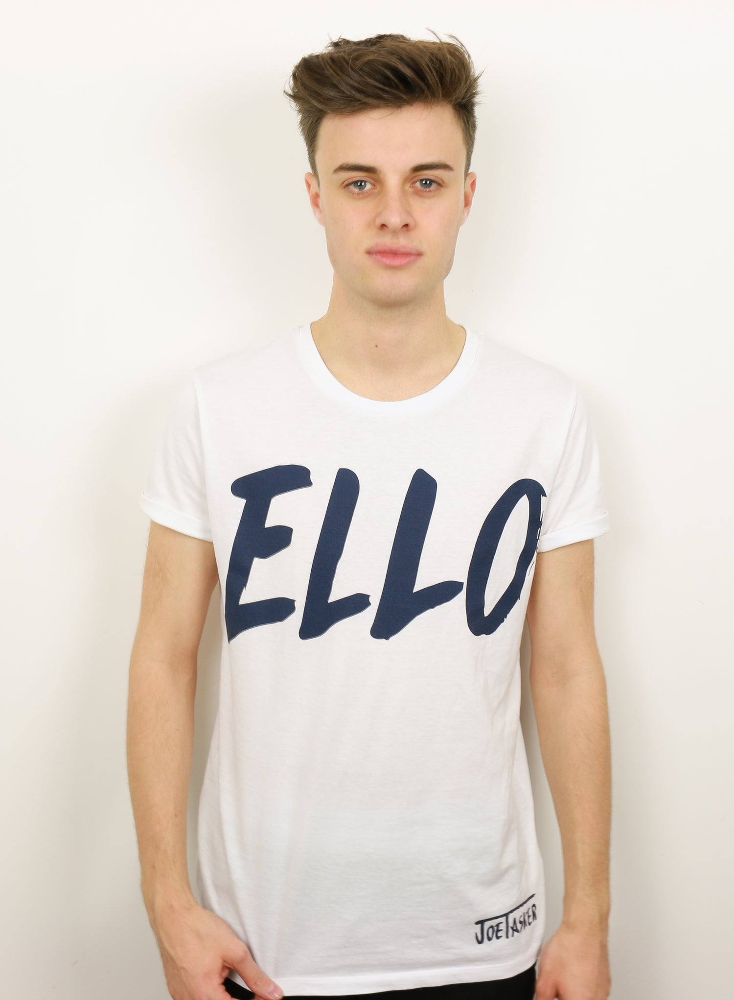 Image of White 'ELLO' T-Shirt