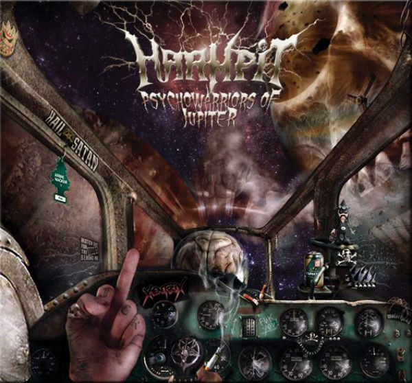 "Image of HARMPIT ""Psychowarriors of Jupiter"" digipack"