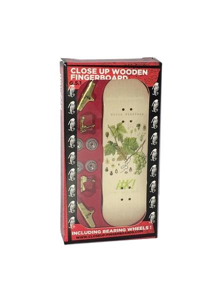 Image of Close Up Fingerboard G5.1 Complete Franz Eugen Nature