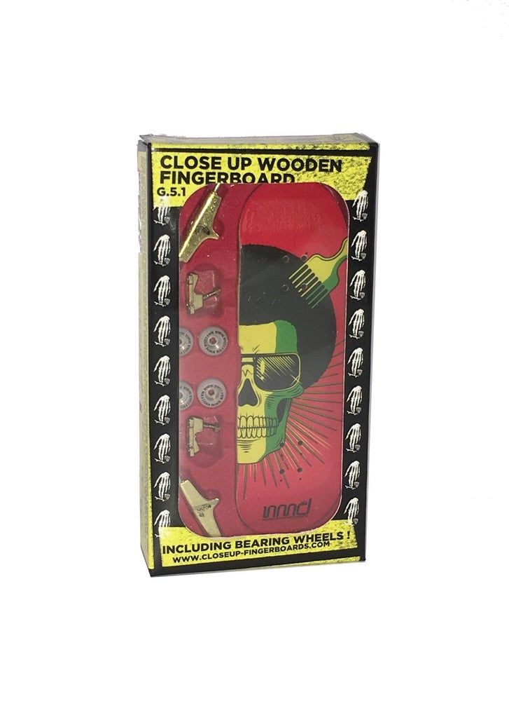 Image of Close Up Fingerboard G5.1 Complete Nomad Rasta