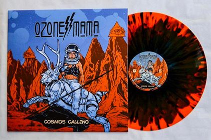 Image of Ozone Mama - Cosmos Calling Ultimate Cosmos Multicolored Limited Edition LP