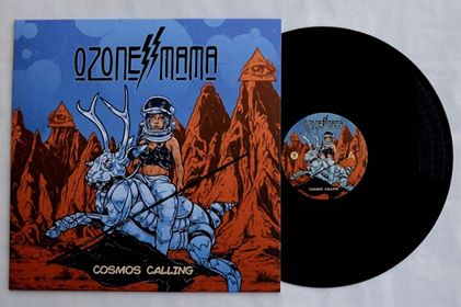 Image of Ozone Mama - Cosmos Calling - Blackened Space Edition LP