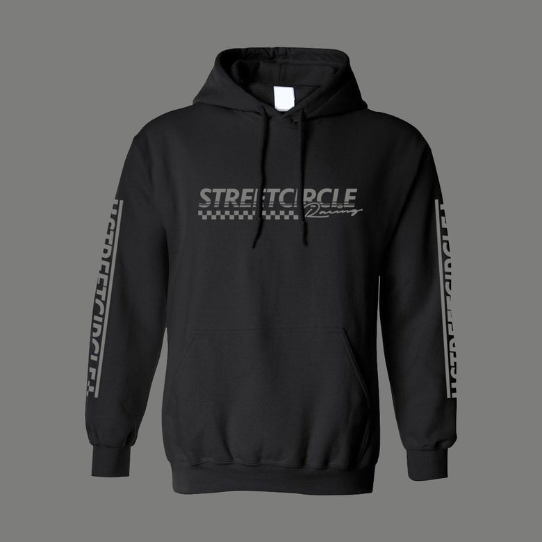 Image of StreetCircle Racing Hoodie (Black/Grey)