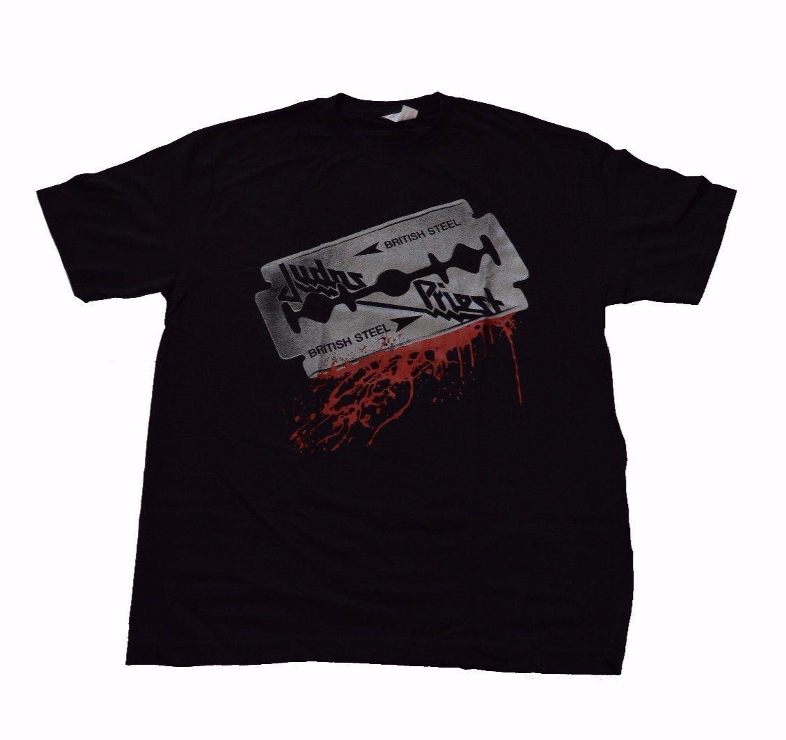 Image of Judas Priest British Steel Tshirt L