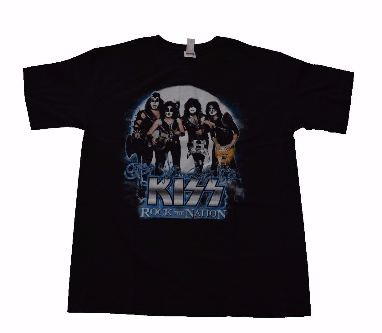 Image of Kiss Rock the Nation World Tour Tshirt L